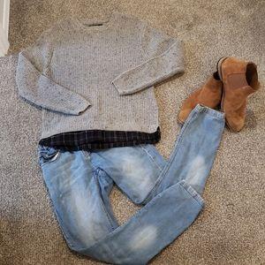 Zara boys pull over Sweater EUC 👌 size 13/14